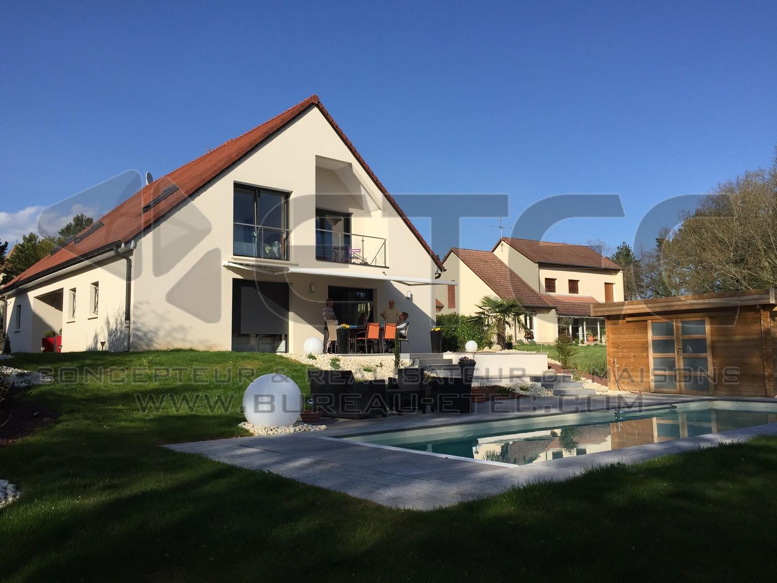 Populaire Maison de style contemporain à Givry - ETEC MP01