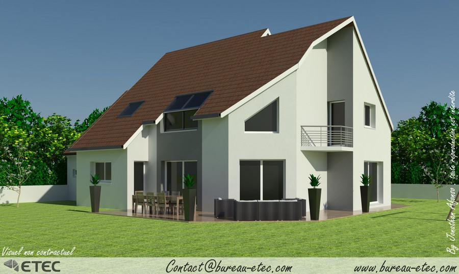 Maison contemporaine VA2 ETEC
