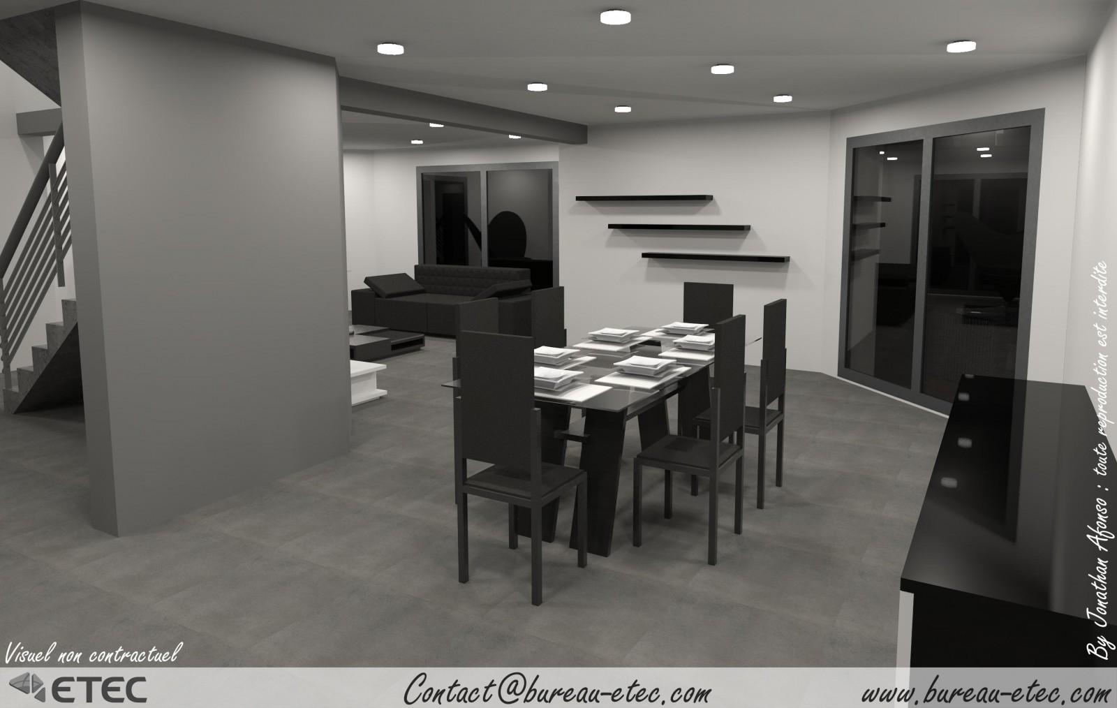 Maison contemporaine couternon etec - Vaisselle contemporaine moderne ...