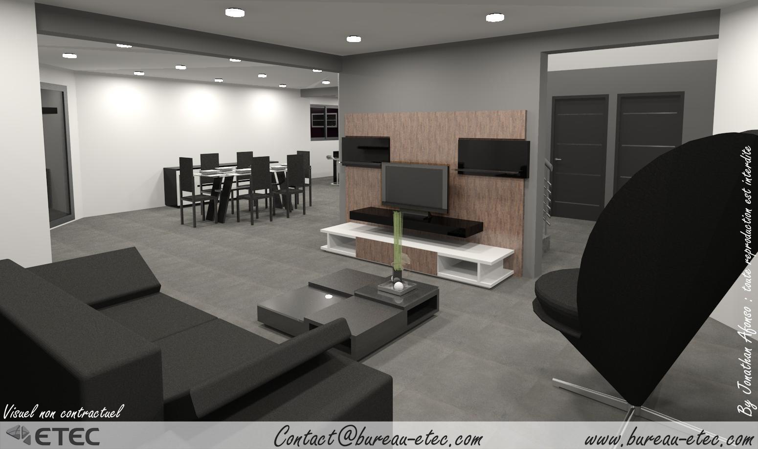 Maison contemporaine couternon etec for Concepteur de plan de maison