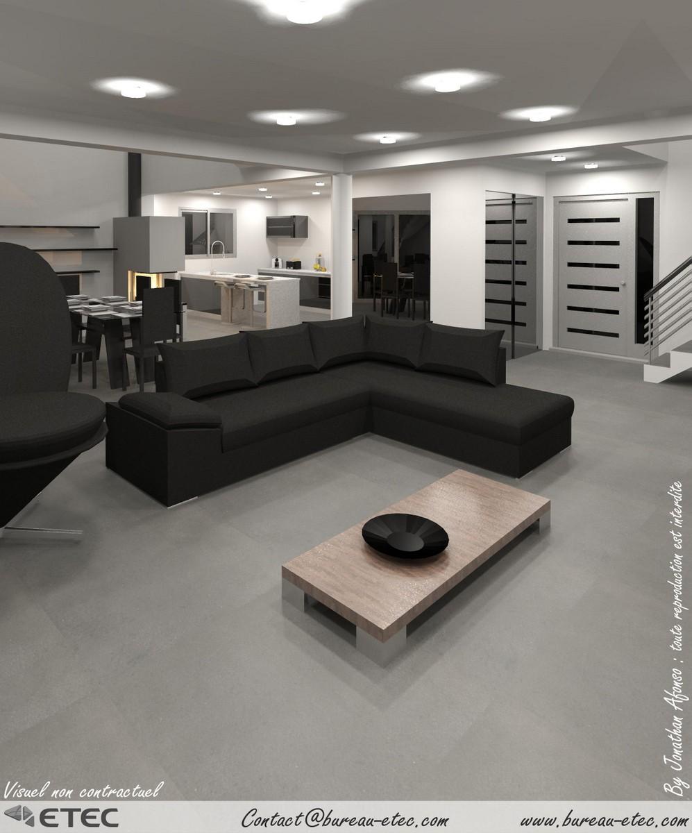maison contemporaine beaune. Black Bedroom Furniture Sets. Home Design Ideas