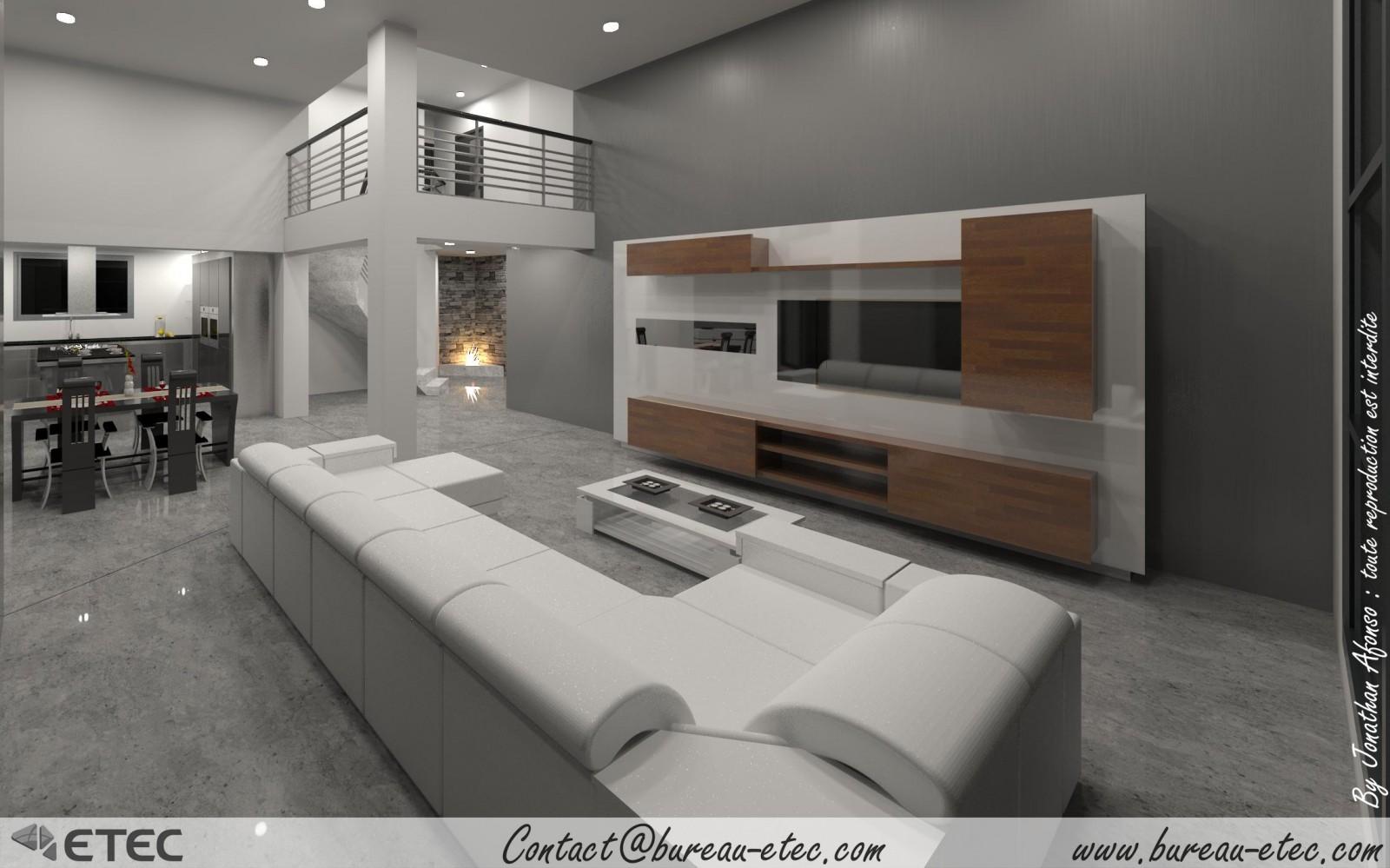 Maison toit terrasse dole 39 for Concepteur de plan de maison